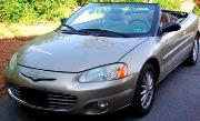 CHRYSLER SEBRING CONVERTIBLE 2D (2001-2003) КРАЙСЛЕР СЕБРИНГ КАБРИОЛЕТ 2 дв. с 2001-2003 г.