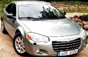 CHRYSLER SEBRING SEDAN 4D (2004-2006) КРАЙСЛЕР СЕБРИНГ СЕДАН 4 дв. с 2004-2006 г.