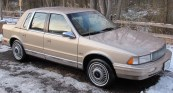 CHRYSLER LE BARON SEDAN 4D (1987-1992) КРАЙСЛЕР ЛЕ БАРОН СЕДАН 4 дв. с 1987-1992 г.