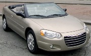 CHRYSLER SEBRING CONVERTIBLE 2D (2004-2006) КРАЙСЛЕР СЕБРИНГ КАБРИОЛЕТ 2 дв. с 2004-2006 г.