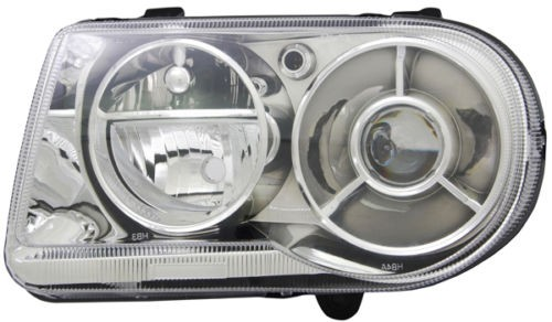 * [LAMP HEAD] 06-08 | CHRYSLER 300C I EURO SRT8 (ЕВРОПА) ФАРА КСЕНОНОВАЯ D1S (XENON), HB3 RECHTS ЛЕВАЯ СТОРОНА С ОПЦИЕЙ ЗАДЕРЖКИ НА 5.7L, 6.1L SDN (СЕДАН) 4D | ориг.номер: 57010761AA, 4805761AL, 4805761AK, 4805761AG, 4805761AF, 4805761AE, 4805761AD, 48057