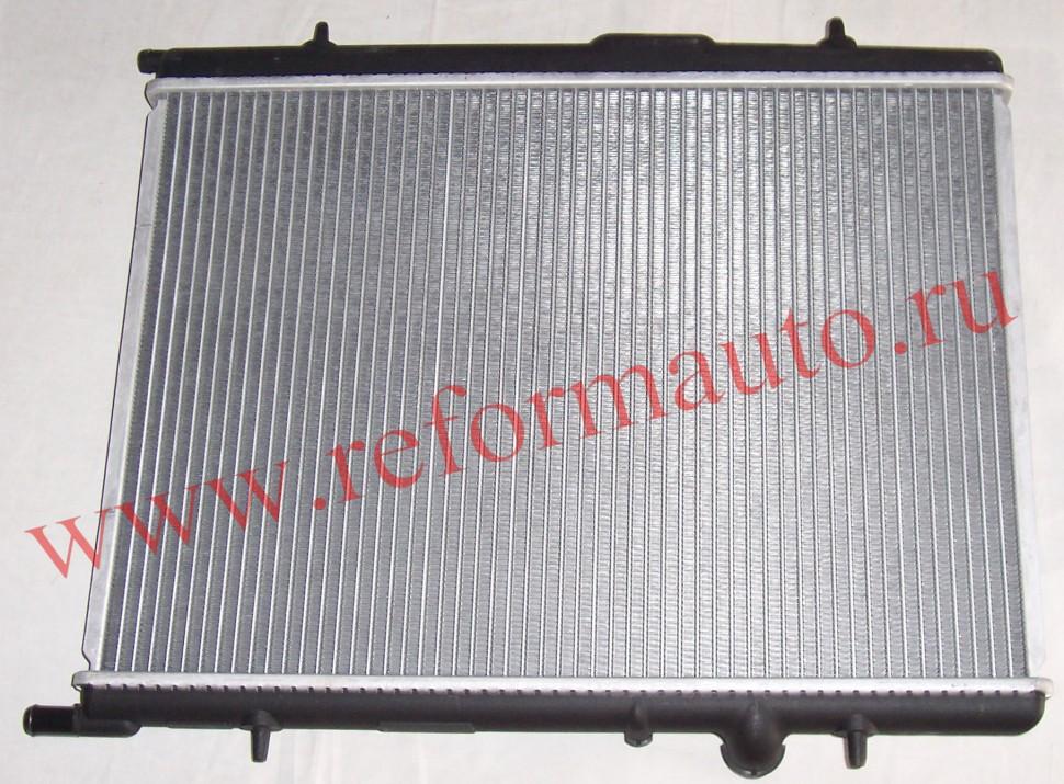 радиатор охлаждения двигателя ситроен берлинго ава