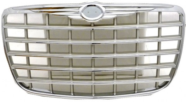 <> [GRILLE] 06-08 | CHRYSLER 300C I EURO SRT8 (ЕВРОПА) РЕШЕТКА РАДИАТОРА ХРОМИРОВАННАЯ НА 5.7L и 6.1L SDN (СЕДАН) 4D | ориг.номер: 04805928AB, 04805928AC. Кросс-номер: CR30C05-100H, PCR07026GB, CR6700930-1000, CR07025GB, 243105-1, CR15-301-2, CR67-093-A0,